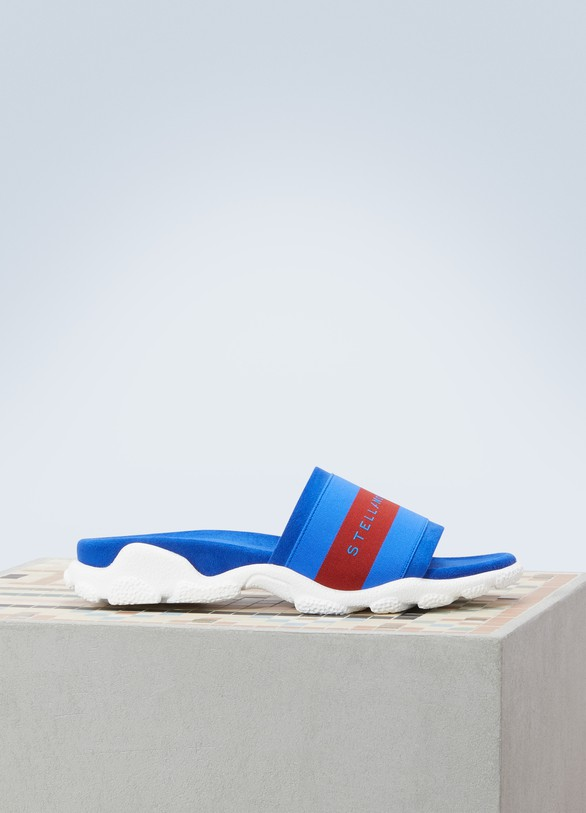 Stella McCartney Bicolor mules