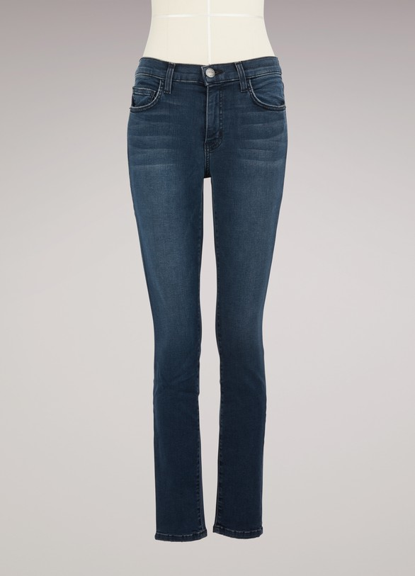 Current Elliott Jean taille haute coupe skinny