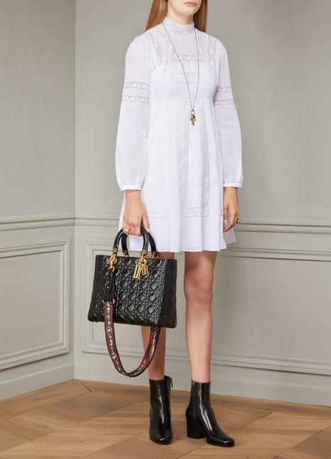 3a66f19c65e5 Women s Lady Dior Large Handbag