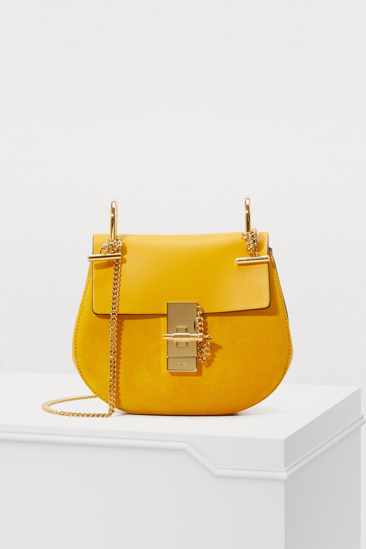 CHLOE | Mini Drew shoulder bag | Goxip