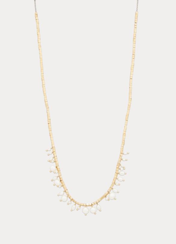 5 OctobreCollier Lipp en vermeil et perles d'eau douce