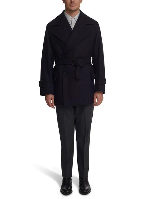 DRIES VAN NOTENCross over wool coat
