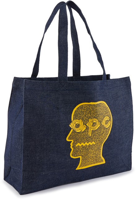 A.P.C. Tote-bag x Brain Dead