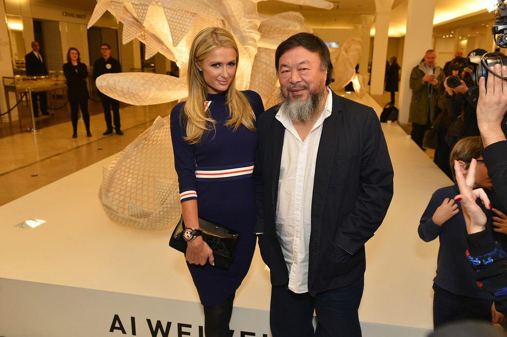 Ai Weiwei & Paris Hilton - © Say Who