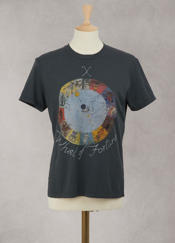 "DIOR Tee-shirt en jersey de coton ""X Wheel of Fortune"""