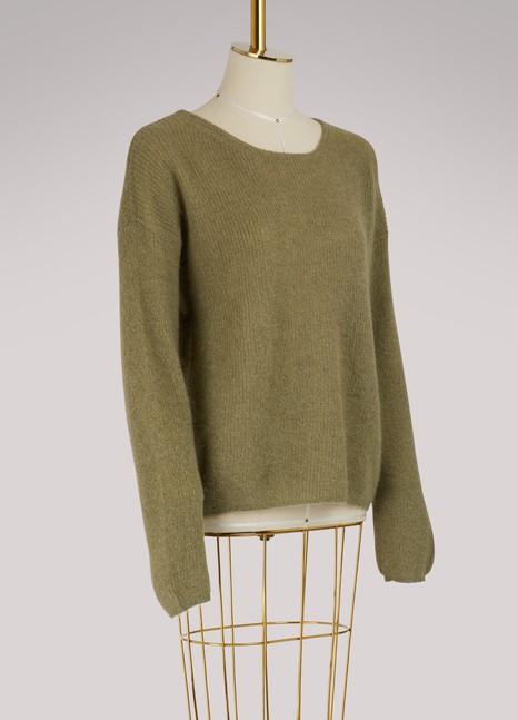 Vanessa BrunoIllusion mohair and alpaca sweater
