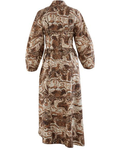 GANNILanges Kleid mit Gürtel