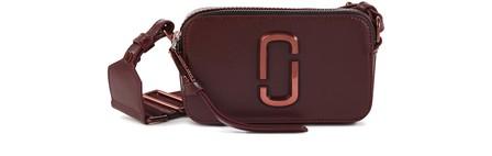 Marc Jacobs Snapshot Crossbody Bag In Wine
