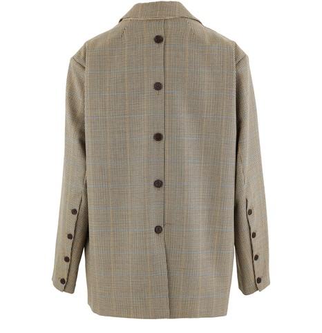 ROKHWoollen double-breasted blazer