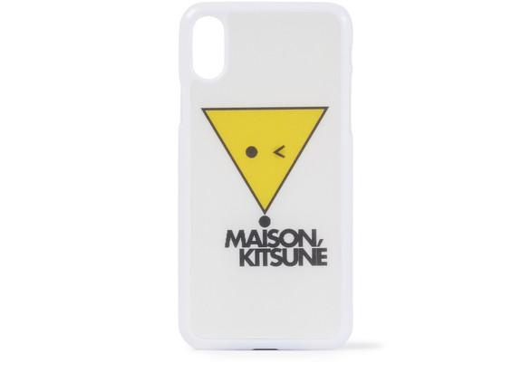 MAISON KITSUNEFox hologram iPhone case