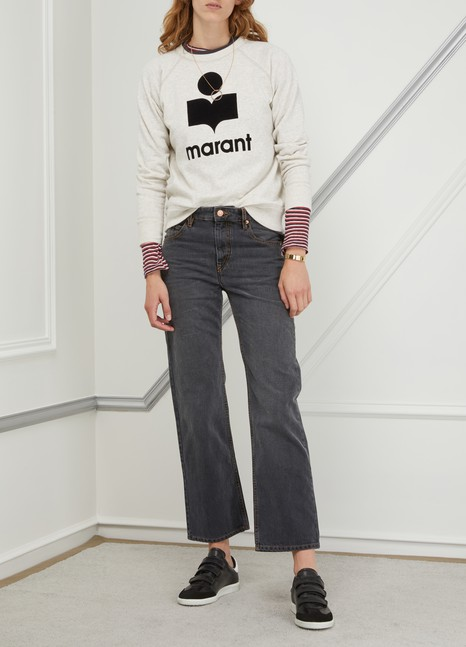 Isabel Marant EtoileMilly cotton sweatshirt