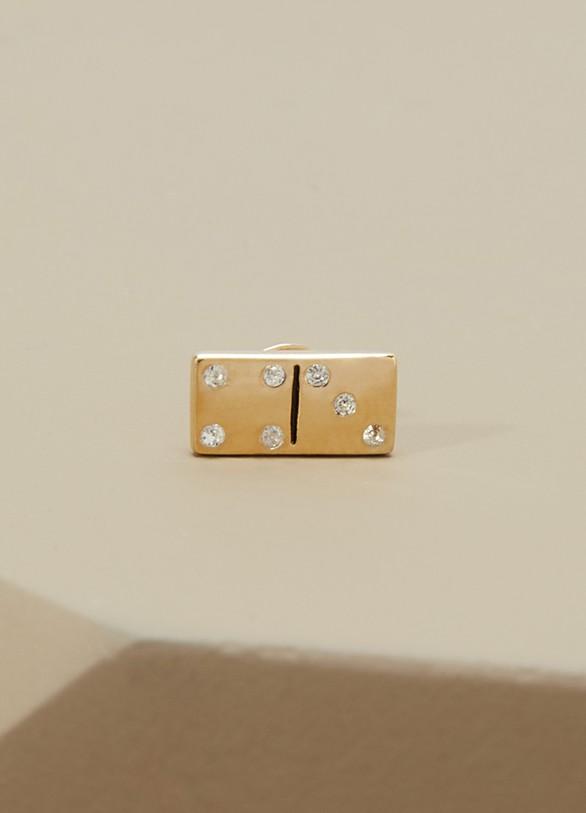Marc JacobsBoucle d'oreille unique Domino