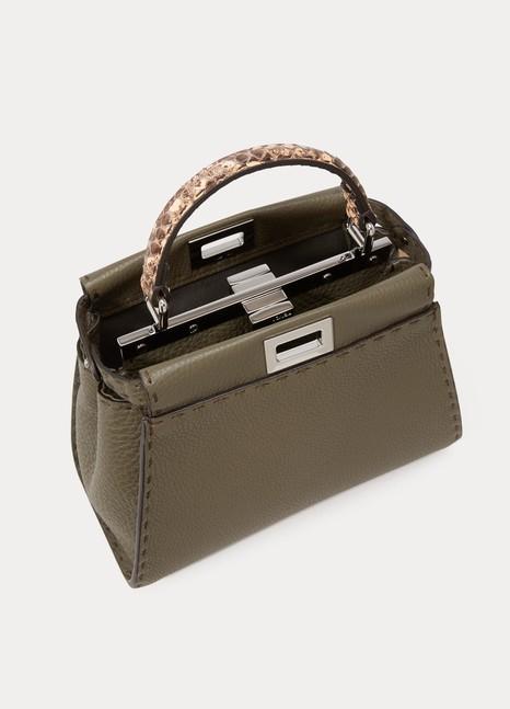 Mini sac à main Peekaboo femme   Fendi   24 Sèvres a95d3f841af