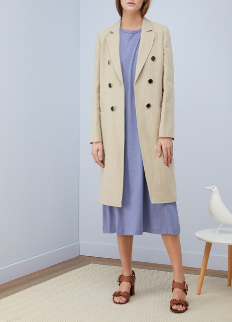 Vanessa BrunoInola linen coat