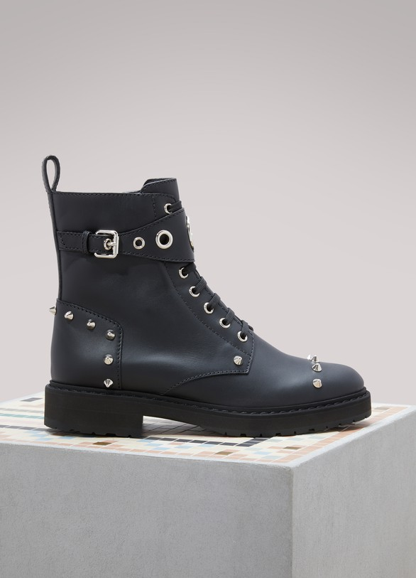 Fendi Bottines Biker