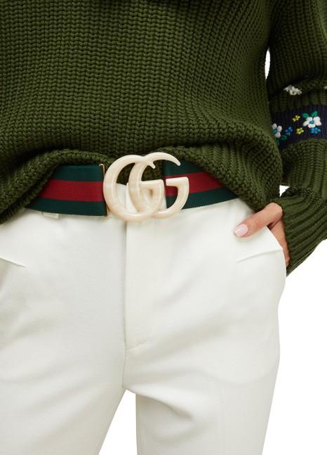 GUCCIGG web belt