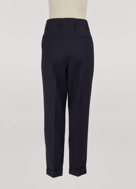 AmiStraight trousers