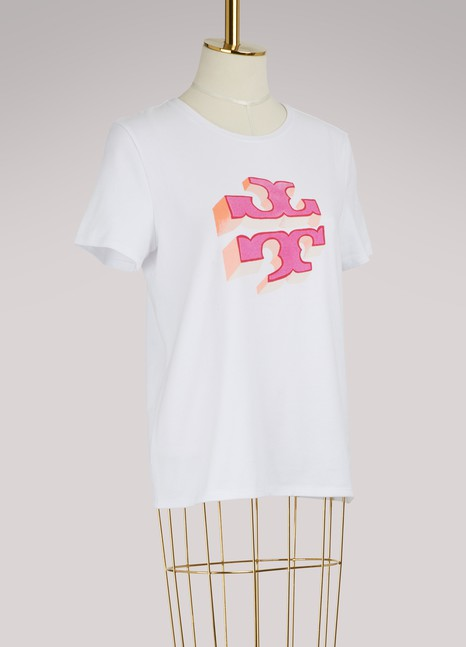 Tory Burch Cotton logo T-shirt