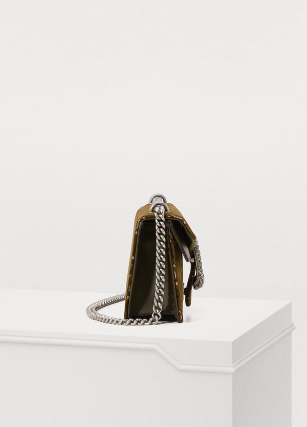 bb1b763dd1d ... Gucci Dionysus GG velvet shoulder bag ...