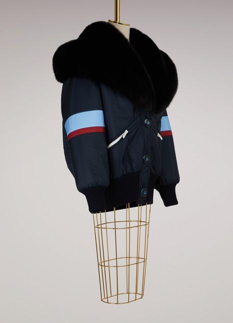 Miu MiuWool and Fur Coat