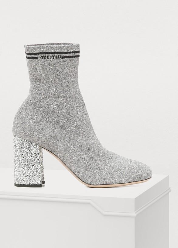 416b2a8ea5ea Women s Lurex ankle boots