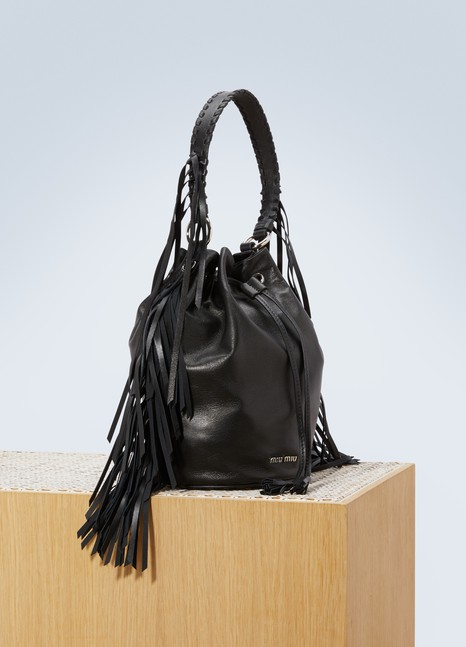 Miu Miu Fringes buckle bag