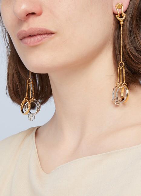 Jil SanderPendant ring earrings