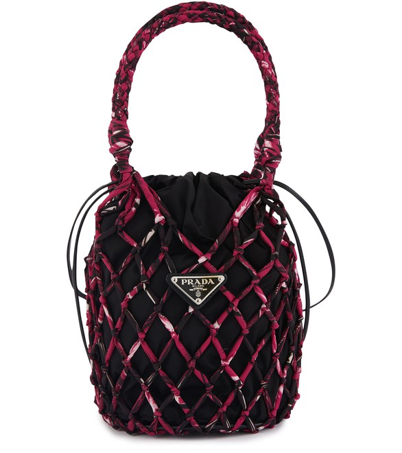 PRADA Fisherman's Net hand bag