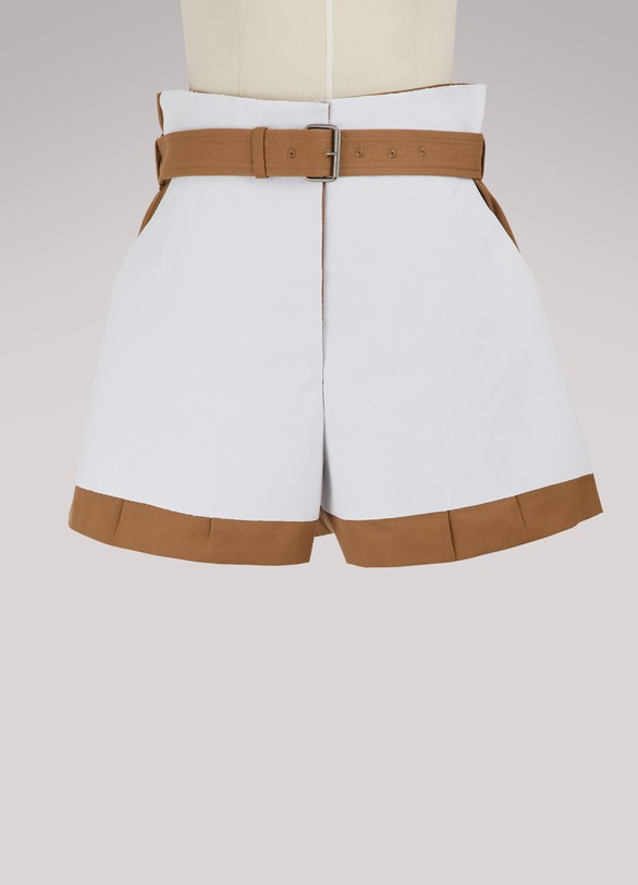 Maison Margiela Shorts en canvas