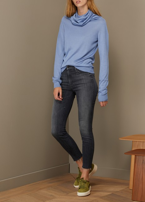 Mother Cotton high rise skinny Jean