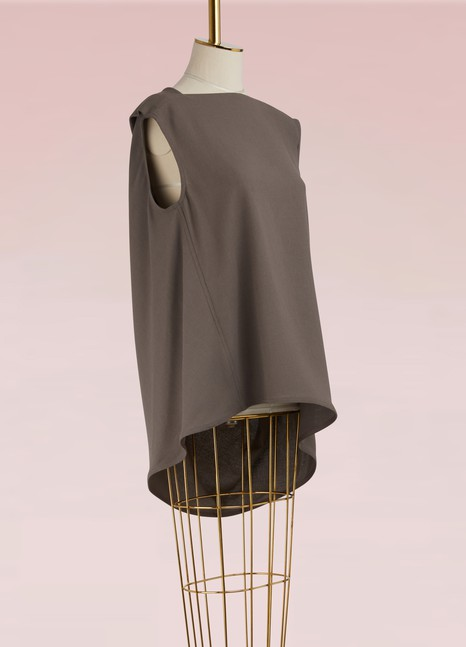 Rick Owens Wool wrap top