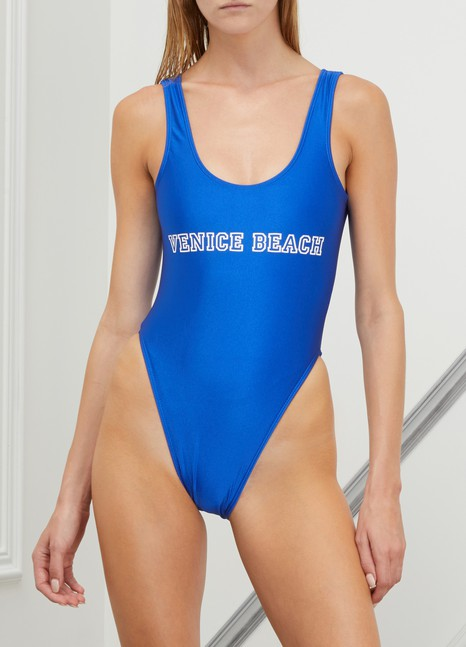 Private PartyVenice beach one-piece swimsuit