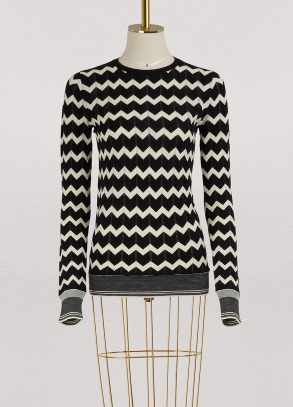 Stella McCartney Wool striped sweater