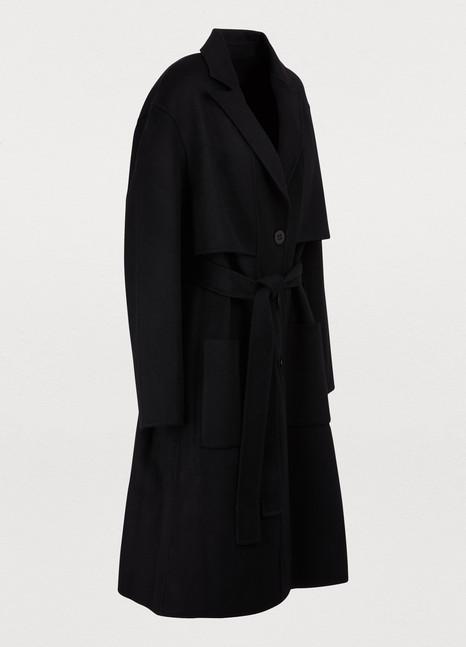 EtudesBelted cashmere coat