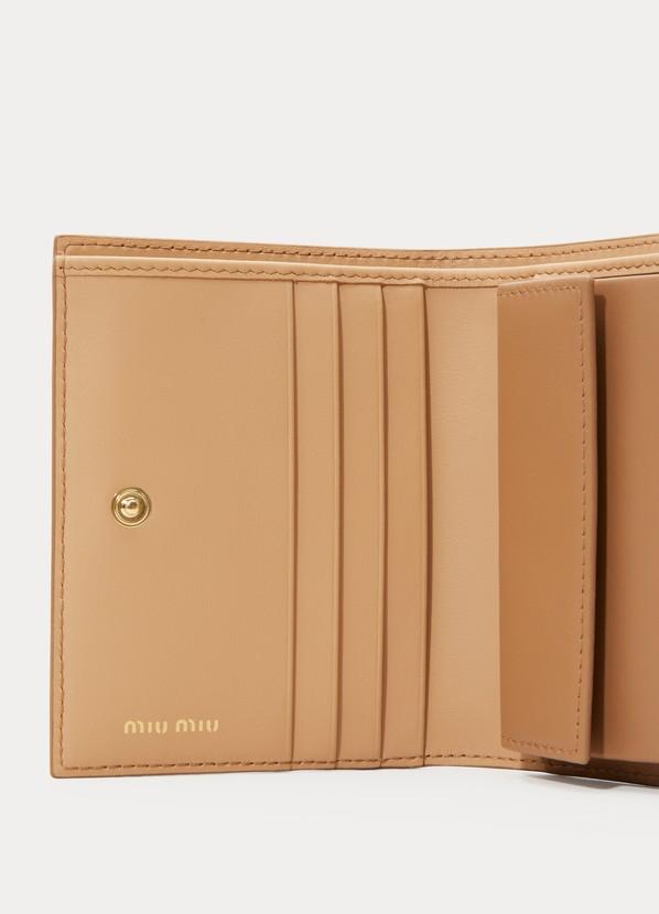 9fc492b9e491 ... Miu Miu Bow small wallet ...