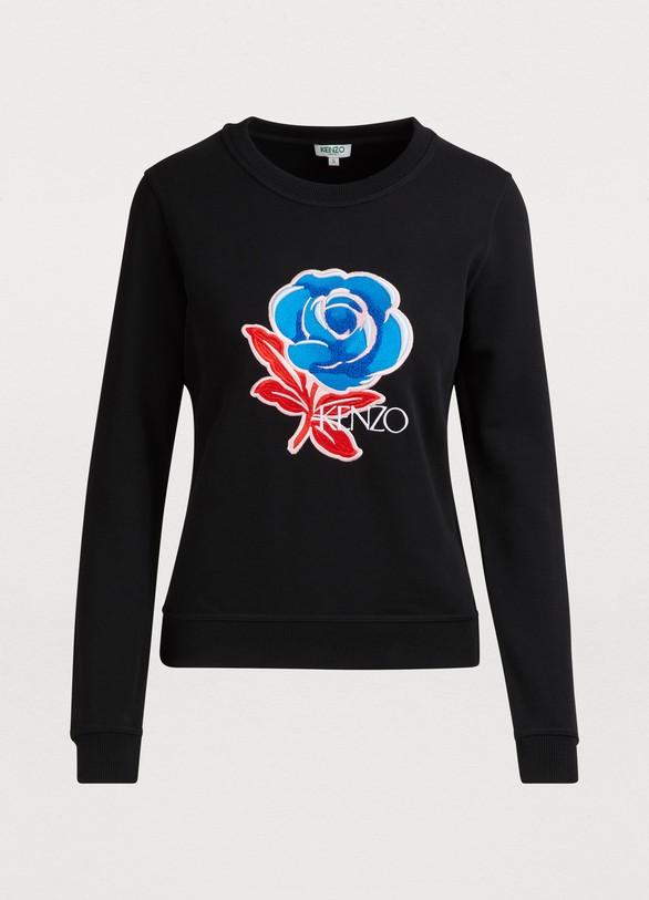 1cf4a99bb4 Flower print sweatshirt