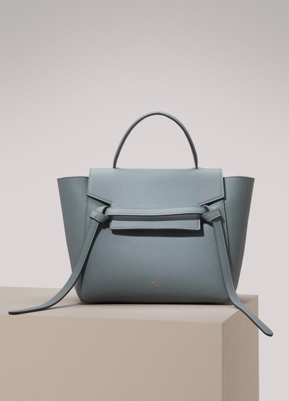 5f001de2db4a Women s Micro Belt bag in grained calfskin