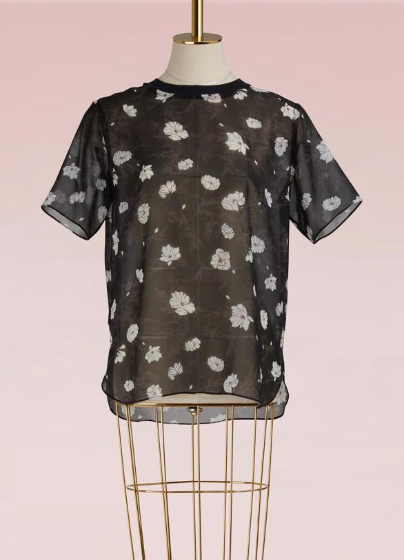CarvenT-shirt en voile