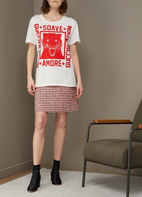 GUCCIT-shirt à imprimé « Soave Amore Guccification »