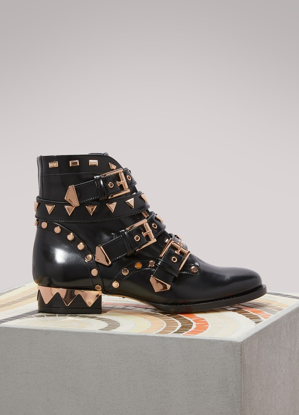 SOPHIA WEBSTER Bottines biker Riko