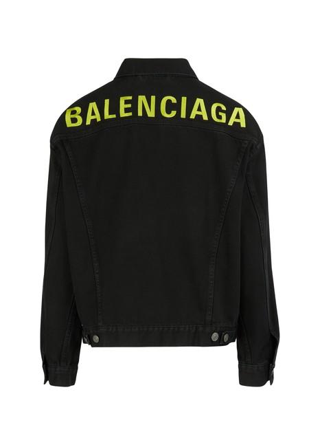 BALENCIAGADenim jacket with logo