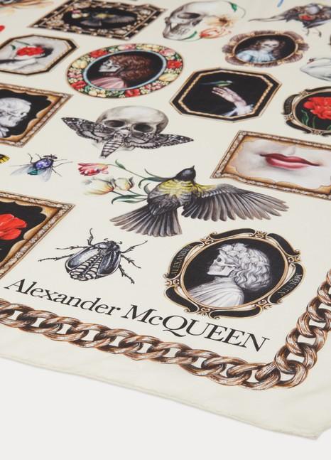 Alexander McQueenFoulard en soie