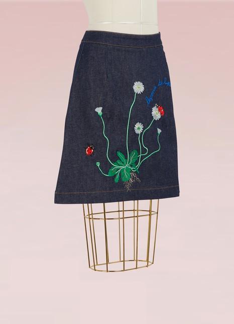 Maison LabicheLa Botanique Skirt