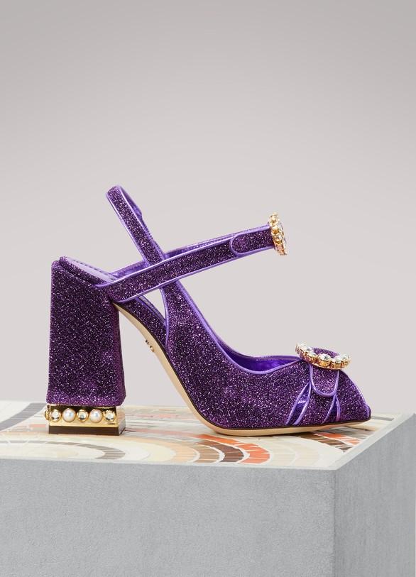 Sandales en lurexDolce & Gabbana ZDoTZ