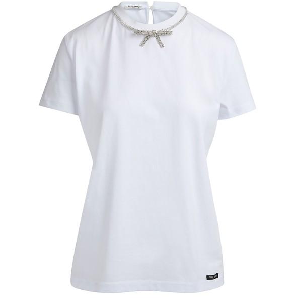 MIU MIUBow t-shirt