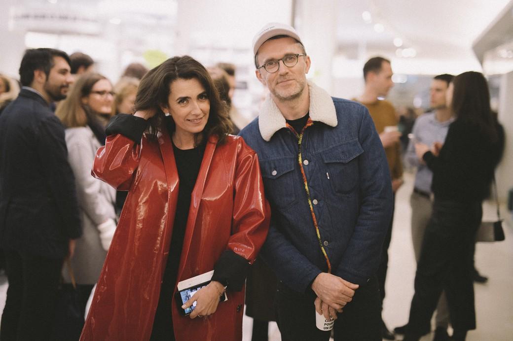 Mademoiselle Agnès et Loïc Prigent