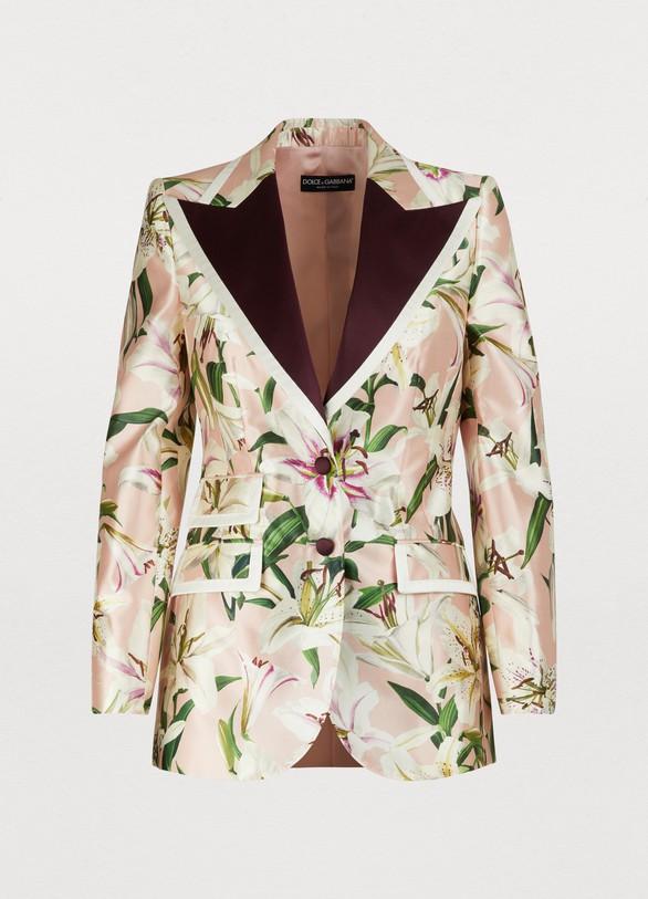 Dolce & GabbanaSilk blazer