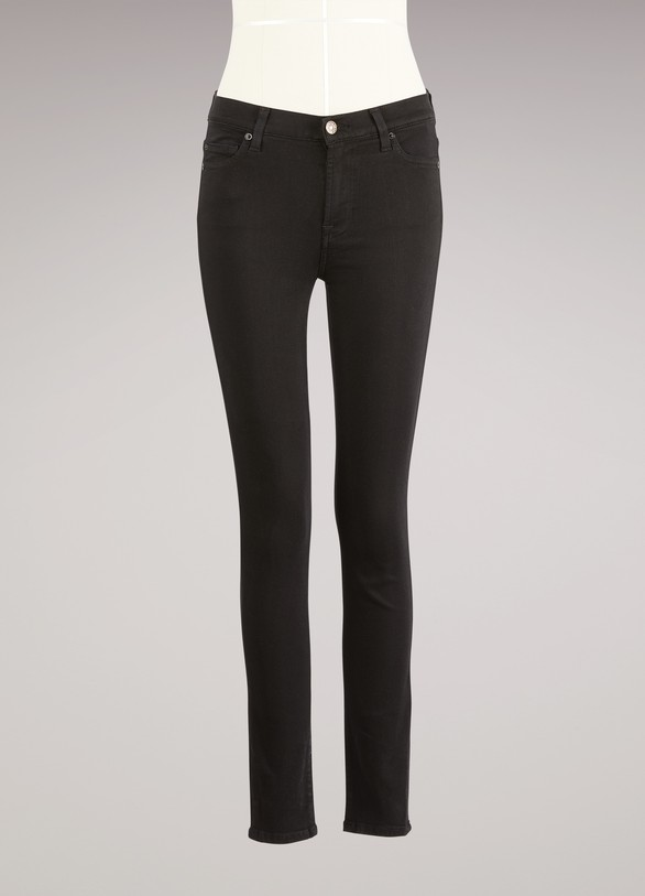 7 For All Mankind Jean taille haute super Skinny