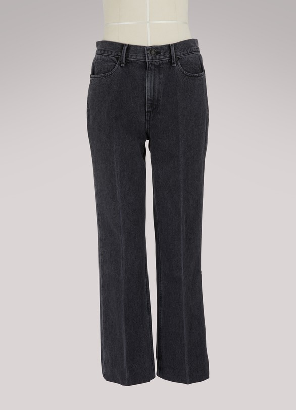 Rag & Bone Dylan high-waisted straight jeans