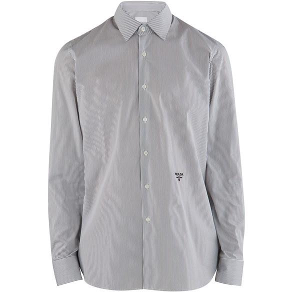 PRADAStretch poplin shirt
